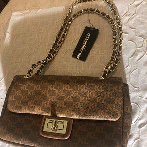 Handbags - NWT Karl Lagerfeld Monogrammed Purse